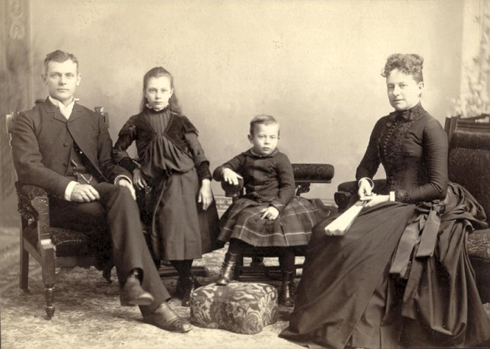 John D. McCully family