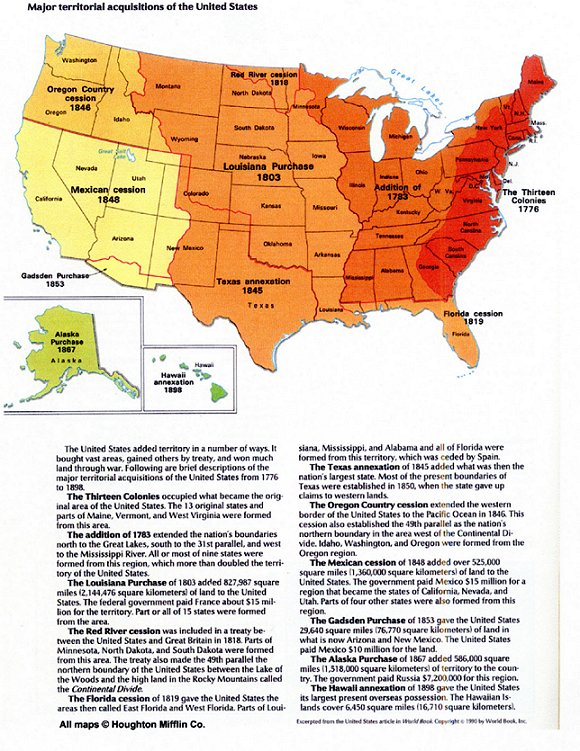 Maps Documenting U S Expansion